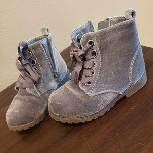 Other - Velvet Gray Boots